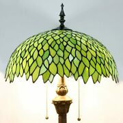 Wisteria Style Floor Lamp Style Stained Glass Bedroom Home Decorations