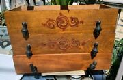 Childs Doll Dresser Drawers 2 Have Design Antique Architectural Great Knobs