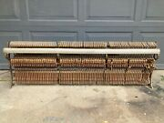 For Parts Or Display - Antique Harrington Wooden Upright Piano Hammer Section