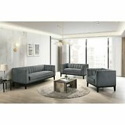 Picket House Furnishings Calabasas 3pc Living Room Set In Light Grey Uci36843pc