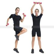 Electro Ems Slimming Weight Loss Fat Burn Muscle Builder Body Trainer Suits