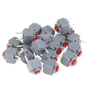 20pcs Mute Button 667.3 Silent Switch Wireless Wired Mouse Button Microexxi