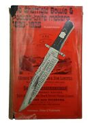 The Sheffield Bowie And Pocket Knife-makers 1825-1925 By Richard Washer 1974