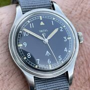 Vintage 1968 Smiths W10 British Military Watch. A Beauty