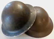 Wwii Canadian Mkii Helmet Shells You Get Two 1942