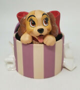 Disney Wdcc Lady And The Tramp And039a Perfectly Beautiful Little Ladyand039 W/ Coa And Box