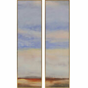 Paragon Scenic Contemporary Far Away Ii Pack Of 2 Wall Art 2644