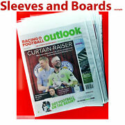 Sport Newspaper Vintage Magazine Sleeve Bags + Boards Acid Free Size6 A3 X 10