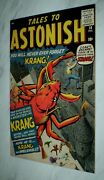 Tales To Astonish 14 Vf/nm 9.0 White Pgs 1960 Marvel Silver Age Horror/sci-fi
