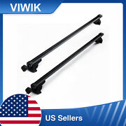 2pcs 48 Iron Roof Top Luggage Rack New Car Roof Carriers For 4-doors Universal