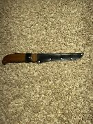 Brusletto Geilo Norway Fillet Hunting Knife Vintage Great Condition