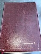 Dakes Annotated Reference Bible. Leather. Concordance. Red Letter. Smokers Smell