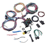 12 Circuit Wiring Harness Wire Universal For Ford Wiper Cars