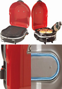 Coleman Fold N Go + Propane Grill Red