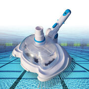 Pool Spa Vacuum Suction Tank Head Brush Swimming Pool Cleaner With Filter Screen