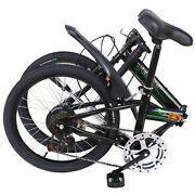 Folding Leisure 20in 7 Speed city Bike Mini Compact Bicycle Urban Commuters