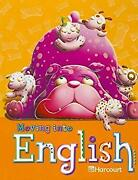 Moving Into English Hardcover Harcourt School Publishers Staff