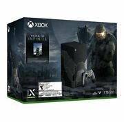 Halo Infinite Limited Edition Xbox Series X Console Bundle Confirmed Presale