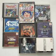 Huge Lot Of Rare Japanese Import Video Games Cds Ps1 Ps2 Ps3 Nintendo Dreamcast