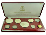 Bahamas 1974 Proof 9-coin Set And039flora And Faunaand039 100g Silver Franklin Mint In Box
