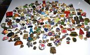Massive Lot Of 240 Mixed Vintage Lapel Pin Back - Lapel Hat Pins With Backs