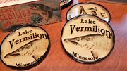 Lake Vermilion Drink Coasters Christmas Gift For Their Lake House Decor