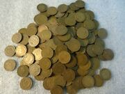 Lot 195 Very Good Condition Circulated Indian Head Cents Pennies 1897-1907