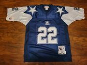22 Emmitt Smith Dallas Cowboys Throwback Jersey Size Extra Large Nwt