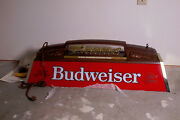 New-never Out Of The Crate Budweiser Antique Beer Sign