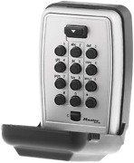 Lock Box Black For Indoor And Outdoor Use Key Safe Is Constructed With A Metal B
