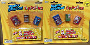 Topps Wacky Packages Erasers Jumbo Pack Lot 2 2011 Nib Rare Find Chase Items