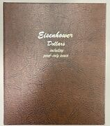 1971-1978 Complete 32 Coin Eisenhower Dollar Set In Dansco, Bu, Proofs And Silver