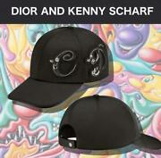 Dior And Kenny Scharf Collaboration Baseball Cap Size L Sold Out In Japan 1930mn