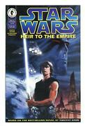 Star Wars Heir To The Empire 1 Vf+ 8.5 1995 1st Comic App. Admiral Thrawn