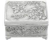 1900s Antique Chinese Export Silver Box