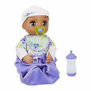 Baby Alive Real As Can Be Baby Realistic Brunette Baby Doll 80+ Lifelike Expre