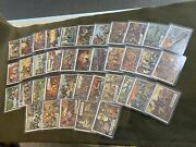 Lot Of 38 Different 1962 Topps Civil War News Cards In Higher Grade Condition