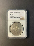 Great Britain Trade Dollar 1898 Bombay Uncirculated Ngc Ms63
