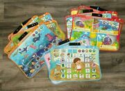 Vtech Touch And Learn Activity Desk Deluxe Expansion Pack Lot Of 20 No Cartridge
