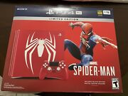 Enpty Box For Limited Edition Marveland039s Spider Man Ps4 Pro-box Only No Console