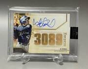 Limited To 15 Cards Worldwide Ichiro Tops Autograph Card 3089hit Topps 2020 S