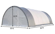 20x30x12 Single Truss Arch Storage Shelter Fabric Tent Building Kit New