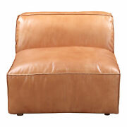 Moeand039s Home Scandinavian Luxe Slipper Chair With Brown Finish Qn-1019-40