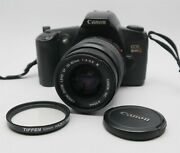 Canon Eos Rebel G 35mm Camera And Lens Outfit Japan W/ New Batteries Works Great