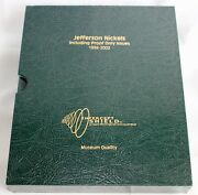 1938-2002 Jefferson Nickels Book Of Bu And Proof Only Issue 140-5c Us Coins