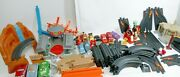 Fisher-price Geotrax Disney Pixar Cars Huge Lot Pieces Cars Track And Playsets