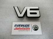 G3b Omc Evinrude Johnson 210356 Front Applique oem New Factory Boat Parts