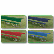 Athletic Connection 21and039 Navy Player Bench With Shelf Beps21cn