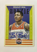 2012 Past And Present Bradley Beal Rookie Auto