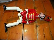 1930and039s Bandy Ge Radio Man Advertising Doll Fine Condition